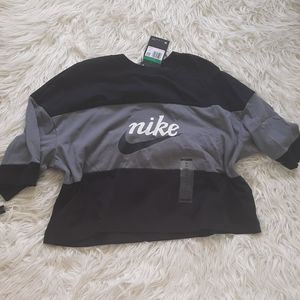 Nike loose fit cropped